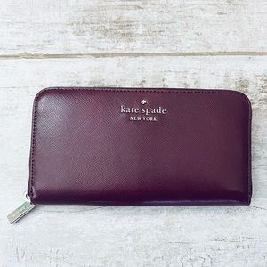 Kate Spade CHERRYWOOD large continental wallet